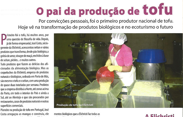O pai da produção de TOFU