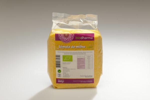 Sêmola de Milho Bio