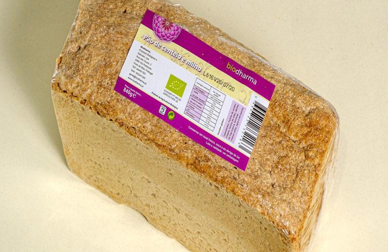 Pão de Centeio e Milho Bio